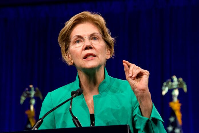 Elizabeth Warren Takes Aim at Coinbase
